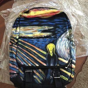 Handbags - Picasso the Scream backpack